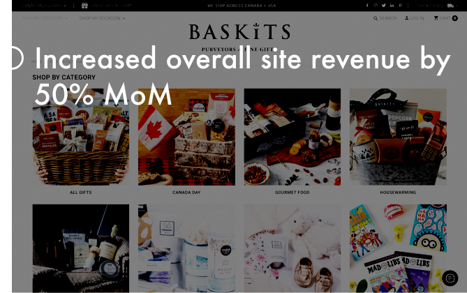 Our client - baskits